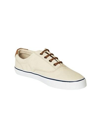 AC&Co / Altınyıldız Classics Günlük Rahat Kanvas Spor Ayakkabı 4A2220200034 Bej